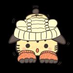 ゴジータ並みの破壊力!猫耳ニット帽と猫の手袋とのフュージョンが最強過ぎな件