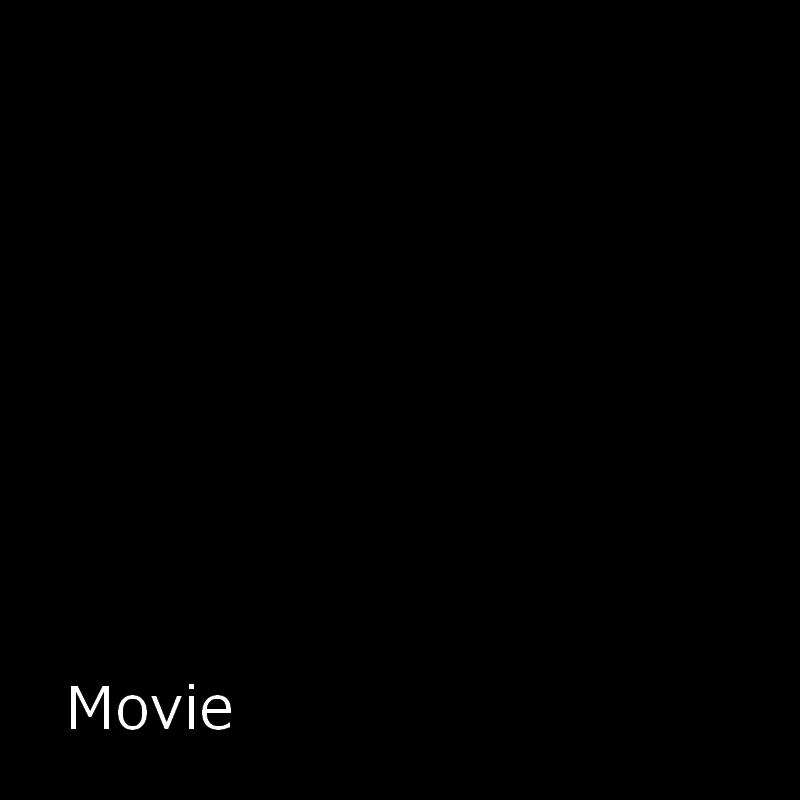 映画を観る猫のシルエット画像